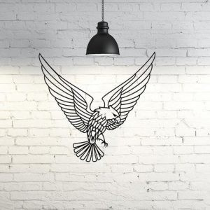 Decoración de pared –  Aguila volando