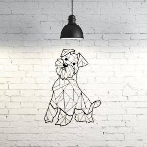 Decoración de pared – Perrito bonito