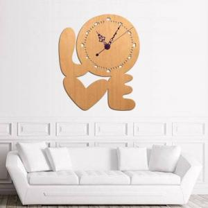 Reloj de pared LOVE